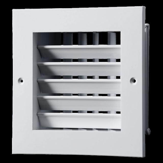 Двустранно регулируема метална вентилационна решетка