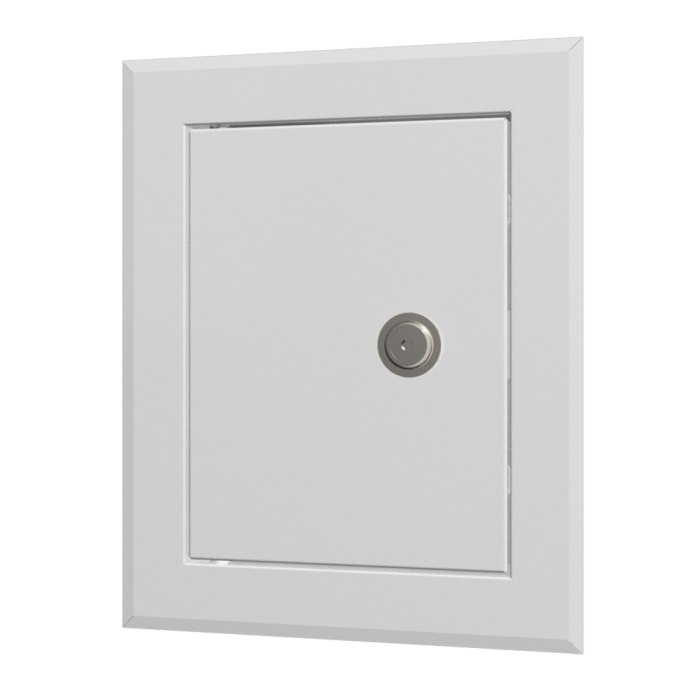 Метална ревизионна вратичка с ключ, прахово боядисана LTMZ