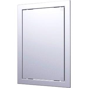 Ревизионна вратичка в цвят сив метал